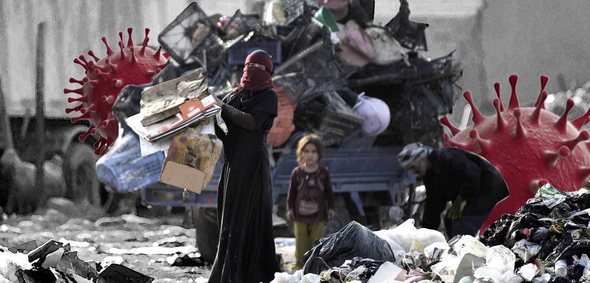 اثر جائحة كورونا على الفقر والهشاشة في العراق